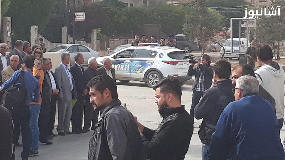 قامشلو: الآسايش تمنع عقد المؤتمر الوطني الكردي وتفض اعتصاماً لأنصار المجلس