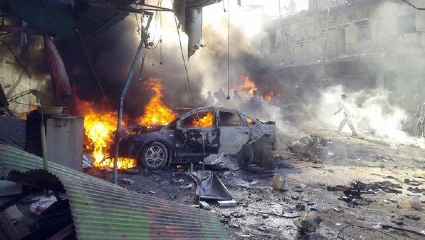 وصول عشرات الجرحى إلى مشافي الحسكة اثر تفجير سيارة مفخخة وسط تجمع للنازحين