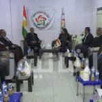 منسق حركة الإصلاح وسكرتير الوفاق يغادران مقر التحالف قبل وصول وفد برلمان كردستان بدقائق