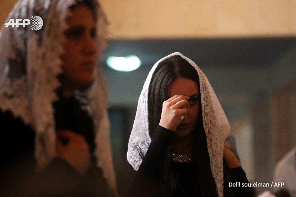 """ضمن اجواء """"جميلة"""" المسيحيون يحتفلون بميلاد المسيح في منطقة الجزيرة"""