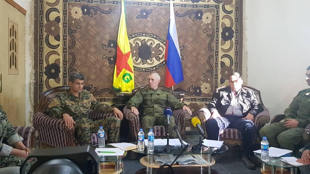 وحدات حماية الشعب تسعى لتشكيل غرفة عمليات (أمريكية – روسية) لمحاربة داعش