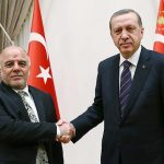 """العبادي يرفض مقترح أردوغان لحل مشكلة """"المعابر الحدودية """" بين بغداد وأربيل"""
