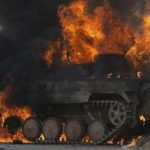"""""""قسد"""" تعلن تدمير 3 دبابات تركية قرب عفرين"""
