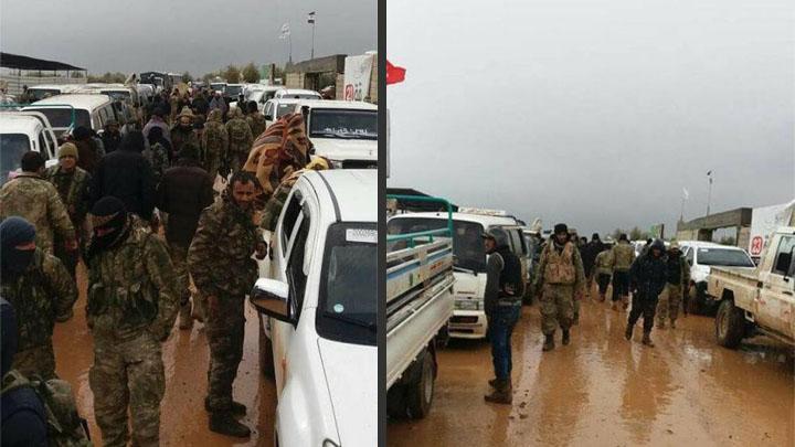 """المئات من مقاتلي """"درع الفرت"""" يحضرون للهجوم على عفرين من 10 محاور"""