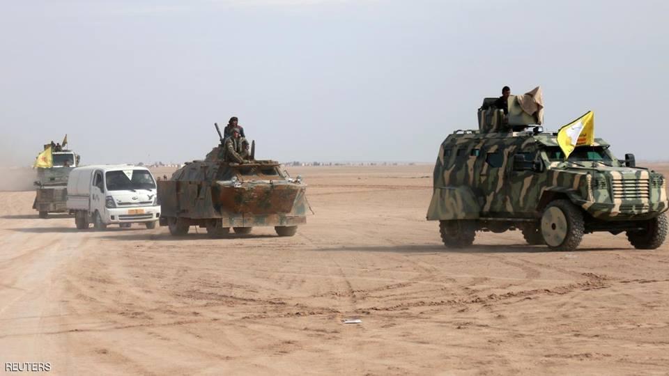 """التحالف الدولي يعلن تشكيل """"قوة حدودية"""" بقيادة سوريا الديمقراطية"""