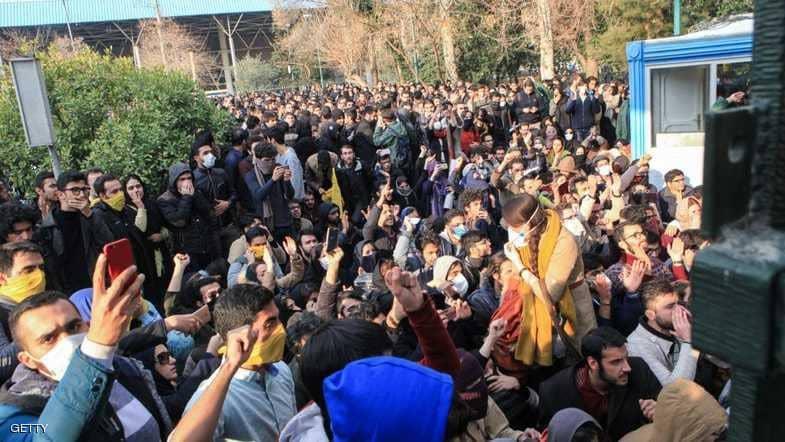 "إيران.. تظاهرات تندد بنظام ""الملالي"" في قلب طهران"