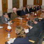 حميد دربندي وآلدار خليل يناقشان حل الخلافات بين المجلس الكوردي وحزب الاتحاد الديمقراطي