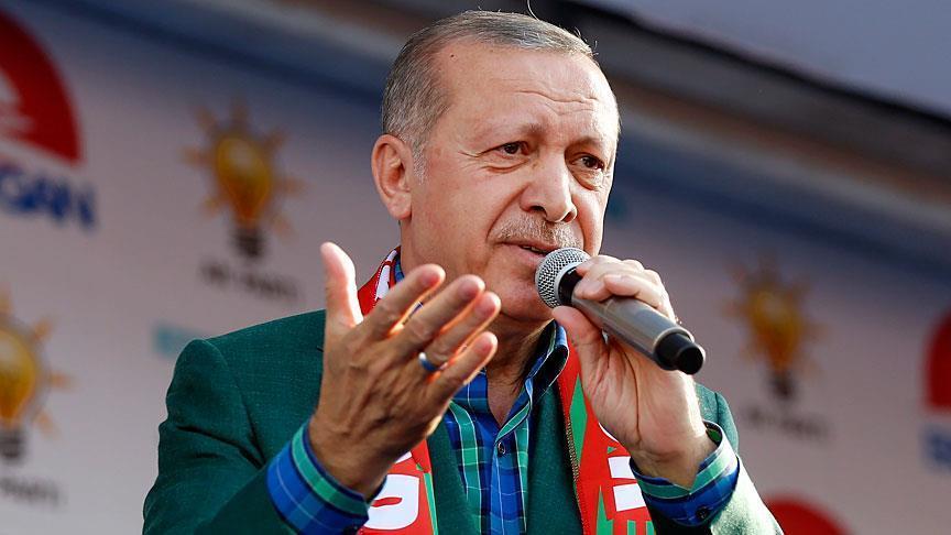 أردوغان: لا تحاولوا البحث عن دولة للكُرد لأن دولتهم هي الجمهورية التركية